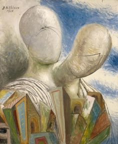 peira:  amare-habeo: Giorgio De Chirico(Italian, 1888 - 1978): Spouses (1926)
