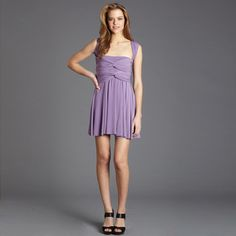 Very Cute – Short Transformer Dress Lilac, $57, now featured on Fab.