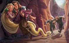 Rapunzel's Story   Disney Princess