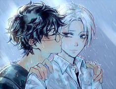 In the rain by soreiyu-run
