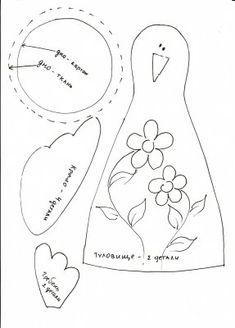 Птицы (утки, гуси, петухи) - Страница 6 - Подарки, сувениры, игрушки из тканей научимся делать красиво сами - Форум-Град