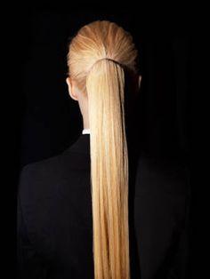 6 Ponytail Hairstyles You Need to Try: Sleek Peak