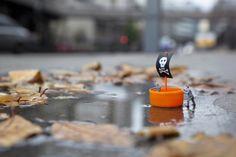 Slinkachu #Macro Photography, miniatures