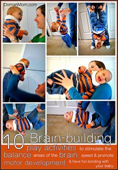 Baby Gymnastics! 10 Fun Brain-Building Balance Stimulation Activities for Your Baby