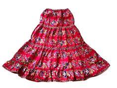 Festival peasant maxi skirt