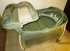 Graco Pack N Play Silhouette Windsor Playard w Canopy Bassinet Changer. never really used the & Graco Pack N Play Silhouette Windsor Playard w Canopy Bassinet ...