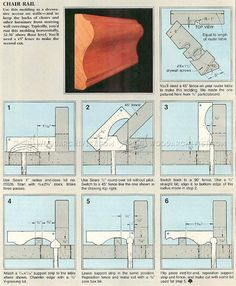 #3163 Create Molding With a Router - Molding Construction