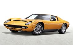 1969 Lamborghini Miura wallpaper
