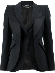 double layered blazer