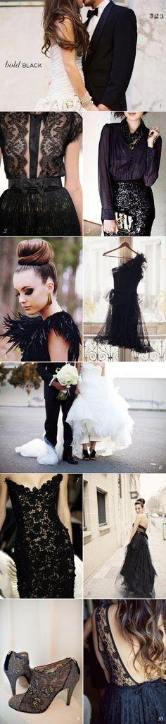 Black Wedding Fashion Inspiration