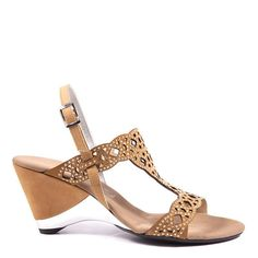 9318cf4f55d1 Onex Shoes   Lacy Beige Evening Sandals