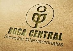 Boca Central – Servicios Internacionales     Logo Design