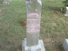 James Madison DePriest James Madison, Find A Grave, Genealogy