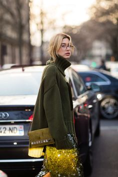 The Best Street Style From Paris Fashion Week Hailey Baldwin - The Cut