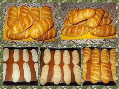 Delicious homemade loaves - soft and airy, and the crust is thin and the stick turned crispy. Help yourself to health! Ingredients: 250 g flour 6 g Loaf Recipes, Baking Recipes, Homemade White Bread, Homemade Pastries, Russian Recipes, Russian Foods, Other Recipes, Hot Dog Buns, Easy Meals