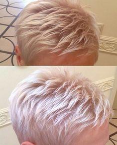 #pixie #haircut #pixie #haircut #short #shorthair #h #s #p #shorthaircut #blondehair #b #hair #blondeshavemorefun #platinumhair #blonde #haircuts