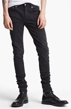 $215, BLK DNM Jeans 25 Slim Skinny Leg Jeans. Sold by Nordstrom. Click for more info: https://lookastic.com/men/shop_items/140042/redirect