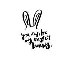 "Allthings by femme on Instagram: ""Everybunny needs somebunny sometimes✨ #easterbunny #hihi #happyweekend #amsterdam #home #love #lettering #illustration #design #handlettering"""