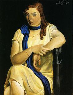 Portrait of Maria Carbona (1925) by Salvador Dalí