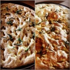 W la focaccia!!! #food #focaccia #rosmarino #rosemary #homebaked #merenda #break #healtyfood #infoodwetrust #love #italiancuisine #homemade #easy