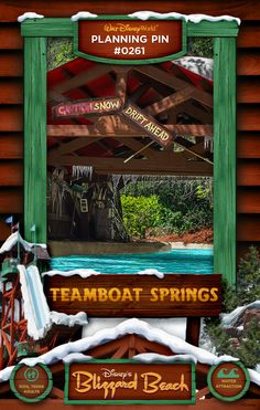 Walt Disney World Planning Pins: Teamboat Springs - brilliant ride. Disney Vacation Planning, Vacation Planner, Disney World Planning, Disney World Vacation, Disney World Resorts, Disney Vacations, Disney World Water Parks, Walt Disney World, Disney Blizzard Beach