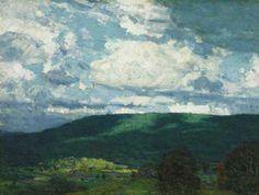 """''Crescendo,'' John Fabian Carlson, oil on canvas, 18 x 24"""", private collection."""