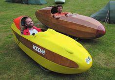 Photogallery :: wood velomobile