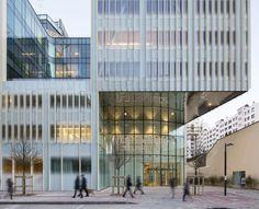 Hachette Livre Headquarters / Jacques Ferrier Architectures