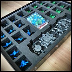 More stuff for Blood Bowl 2016: Foam kit for the original Blood Bowl 2016 boardgame box  http://ift.tt/2pe534l #bloodbowl #tabletop #tabletopgaming #miniatures #boardgame #gamesworkshop