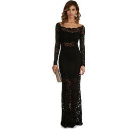 Ariah-Black Formal Dress