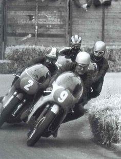 4 Legends — Giacomo Agostini, Mike Hailwood, Phil Read MBE, & Renzo Pasolini.
