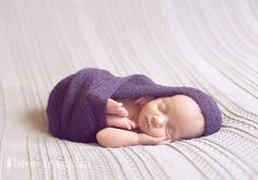 newborn photo asleep