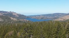 Caples Lake Ca from up on the PCT near Winnemucca Lake.  www.sierrarac.com
