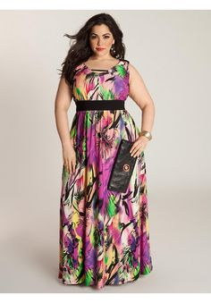 In today's article I am going to speak about lovely plus size women. We are about to see stunning and chic plus-size maxi dresses ideal for spring and summer Plus Size Party Dresses, Evening Dresses Plus Size, Plus Size Outfits, Apple Shape Outfits, Dresses For Apple Shape, Curvy Fashion, Plus Size Fashion, Girl Fashion, Fashion Spring