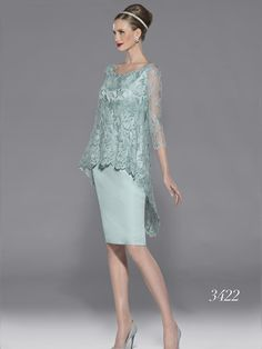 Spring/Summer 2014 collection of Teresa Ripoll Dresses and Mother of The Bride Outfits. Made from top quality materials their designs are an absolute winner Simple Dresses, Elegant Dresses, Beautiful Dresses, Formal Dresses, Bride Dresses, I Dress, Lace Dress, Party Dress, Groom Dress