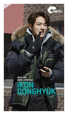 Donghyuk for iKON x NEPA F/W 2015© NEPA