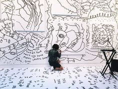 "Empire - Shantell Martin's ""Charge Your Self"" Exhibition"