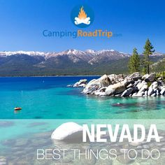 There's so much more to Nevada than just going to Las Vegas... So much to do & see, no matter if you're camping, RVing somewhere or even looking for some cool hiking spots. Check out this great list of activities! I've never been to Nevada.   #GeorgeTupak