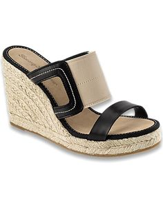 These are super cute in Beige!  Tommy Bahama - Rivulet Espadrille Wedge Sandals
