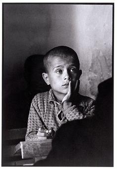 """'The village school' Karpathos, Greece Photo by Constantine Manos"" Dark Photography, Portrait Photography, Beatiful People, Greece Pictures, Karpathos, Alfred Stieglitz, Photographer Portfolio, Famous Photographers, Magnum Photos"