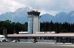 Letališče Jožeta Pučnika Ljubljana (LJU) in Spodnji Brnik, Cerklje na Gorenjskem