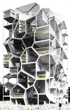 Bee Hive shape building concept....