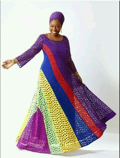 Aso-Ebi Wedding Gallery Colour Combinations: Top Aso-Ebi Combinations You Should Try This Season.For A Wedding To Be Colorful,Materials Of Clothes And Design. African Inspired Fashion, African Print Fashion, Africa Fashion, Fashion Prints, Fashion Design, African Prints, Fashion Styles, African Maxi Dresses, African Attire