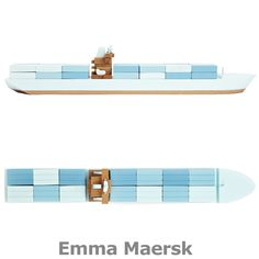 Wood Model Cargo Ships $160-$180