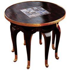 1stdibs | Rare Adolf Loos Elephants trunk table, Jugendstil-Art Nouveau  My favorite period period.
