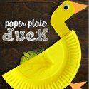 http://www.craftymorning.com/paper-plate-duck-craft-kids/