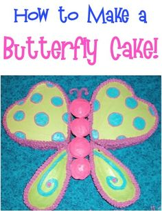 How to Make a Butterfly Cake! ~ at TheFrugalGirls.com #butterflies #cakes #thefrugalgirls