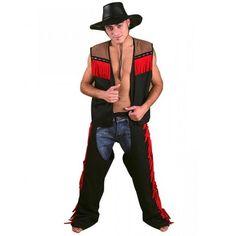 Cowboy Weste Chaps Cowboykostüm Herrenkostüm Kostüm