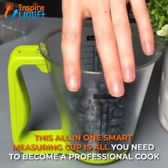 Smart Measuring Cup 😍 Ever find yourself wishing you had a measuring cup, thermometer and scale, all in one? Well, you're wish has finally come true! The ingenious idea of combining these three kitchen essentials into one functional and very handy kitchen utensil is now a reality! Currently 50% OFF with FREE Shipping!
