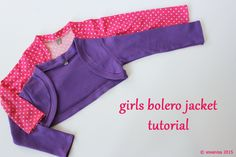 Tutorial: Girls Bolero Jacket